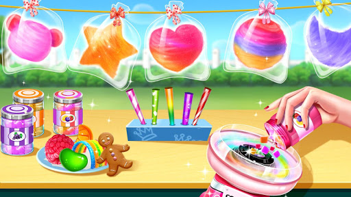 ud83dudc9cCotton Candy Shop - Cooking Gameud83cudf6c 5.2.5009 screenshots 2