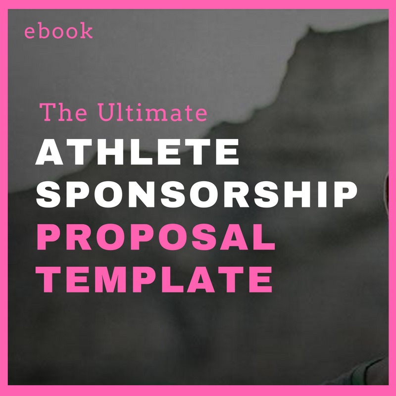 Athlete Sponsorship Proposal Template