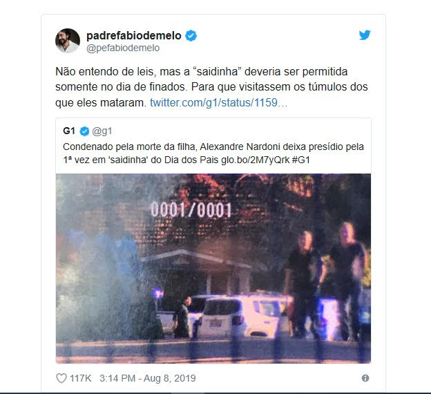 Padre Fábio de Melo decide deixar o Twitter após críticas