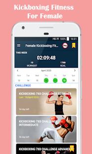 Female Kickboxing Fitness - Self Defense