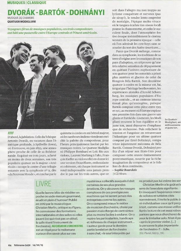 ffff de Télérama (17-23 octobre 2015)