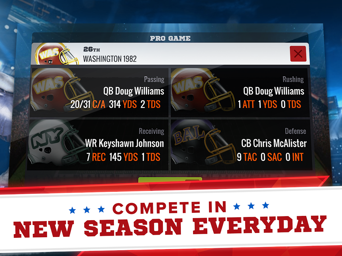 CBS Sports Franchise Football- screenshot