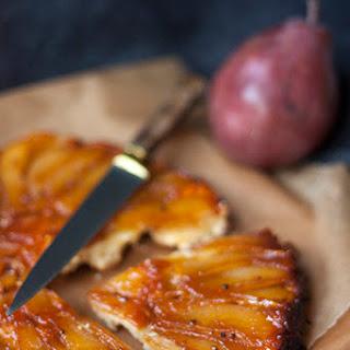 Spiced Pear Tarte Tatin