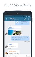Screenshot of KingsChat Beta Free Calls & IM