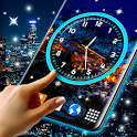 Night Sky Clock HD Pro 🌜 4K Live Wallpaper Themes icon