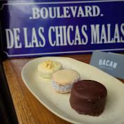 3 Alfajores (Mix made with organic cacao and Belgium chocolate)
