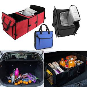 Organizator pentru portbagaj 3 compartimente