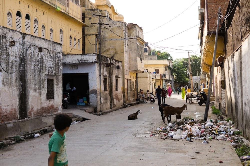 Back streets of Jaipur