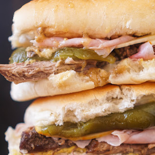 The Colorado Cuban Sandwich with Roasted Green Chilies.