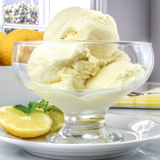 Lemon Ice Cream Milk Recipes