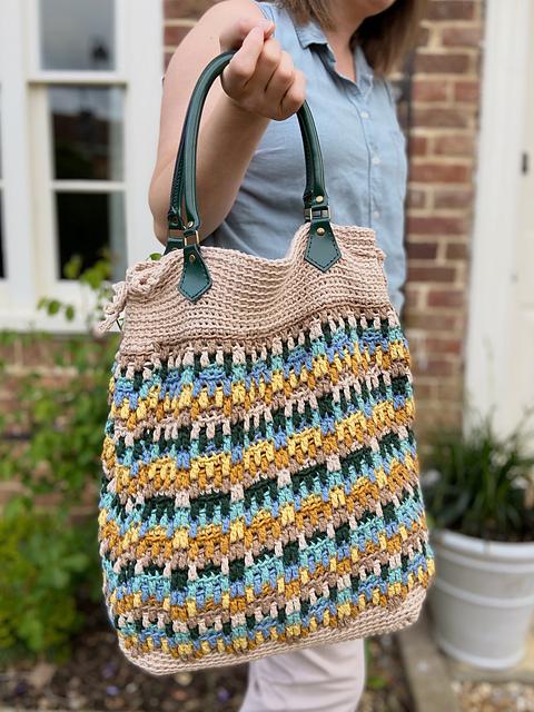Hayden Mosaic Bag crochet pattern