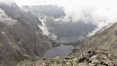 Photo: Widok ze szlaku na Rysy