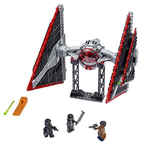 Contenido de Lego® 75272 Caza TIE Sith