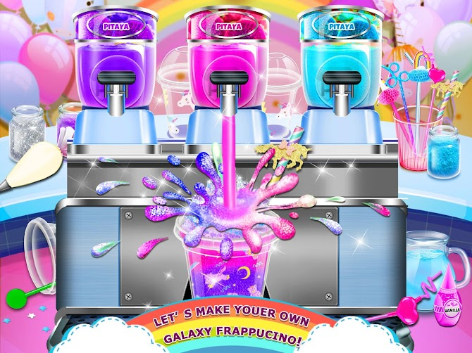 Rainbow Ice Cream - Unicorn Party Food Maker Android 6