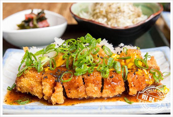 森本日式和風洋食堂厚切豬排定食