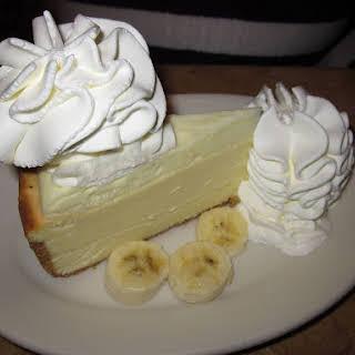 Banana Cheesecake.