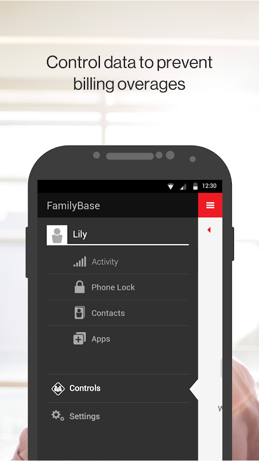 Verizon FamilyBase- screenshot
