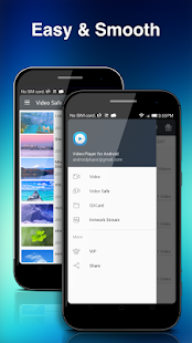Screenshots of Video Player for Android for iPhone