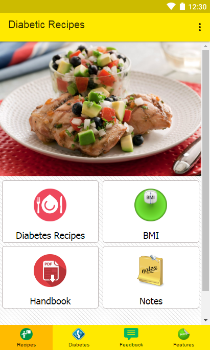 Easy Diabetic Recipes- screenshot