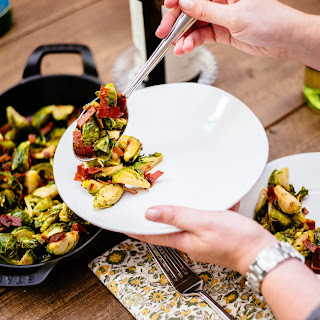 Spicy Italian Brussels Sprouts