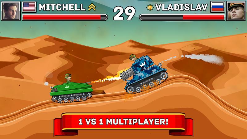 Hills of Steel Screenshot