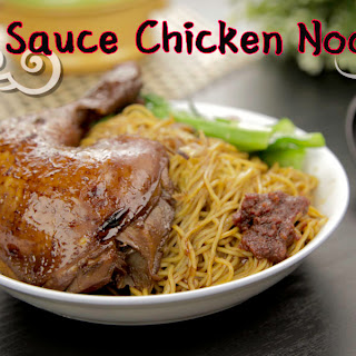 Soy Sauce Chicken Noodle.