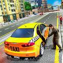 Pro Taxi Driver : City Car Driving Simulator 2021 icon