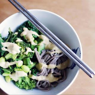 Green Soba Noodle Bowl