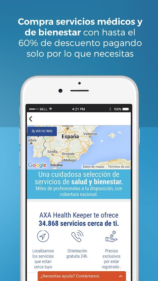 AXA Health Keeper- screenshot