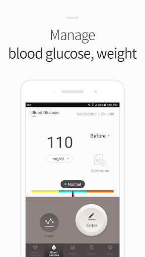 Blood Pressure(BP) Diary 4.1.8 screenshots 2