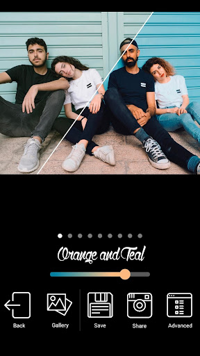 Orange Teal Apk 2