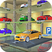 Roadway Multi Level Car Parking Game