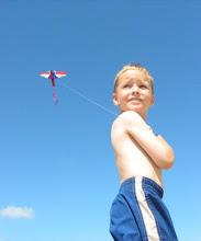 Photo: M. with kite