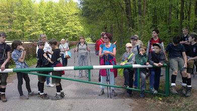 Photo: Doszliśmy do leśniczówki w Gołębiewie.