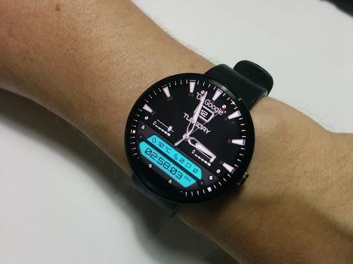 Titanium Watch Face  screenshots 1