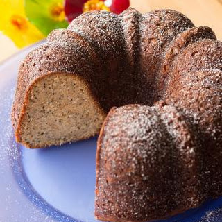 Almond Poppy Seed Pound Cake Recipe