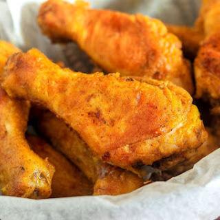 Oven-Fried Chicken Drumsticks Recipe