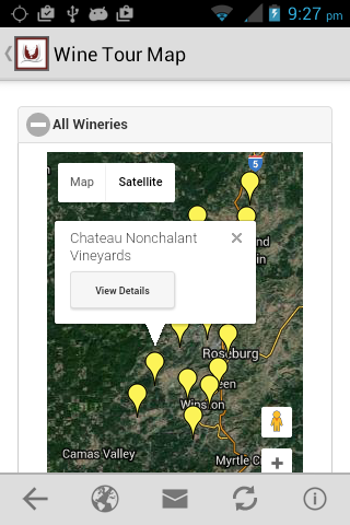 Umpqua Valley Wine Growers- screenshot