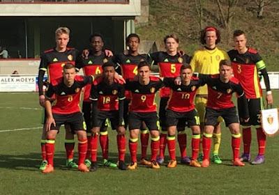 La magnifique joie des U17 belges