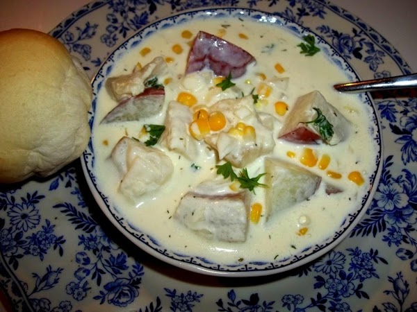 Superb Fish Chowder - Cassies Recipe