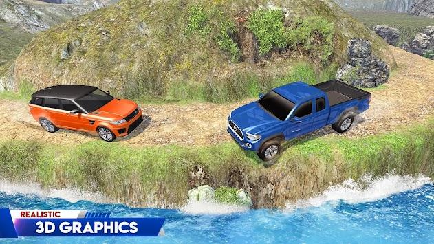 Offroad 4x4 Truck Driving Simulator: 4wheel & Hill