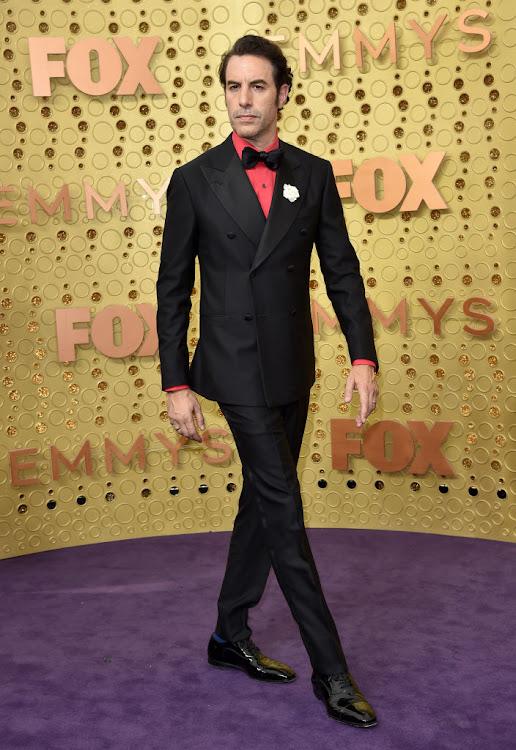 Sacha Baron Cohen at the 2019 Emmy Awards.