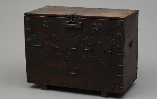 Chest with a Front Flap Door