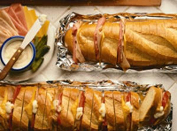 Accordion Sandwiches Recipe