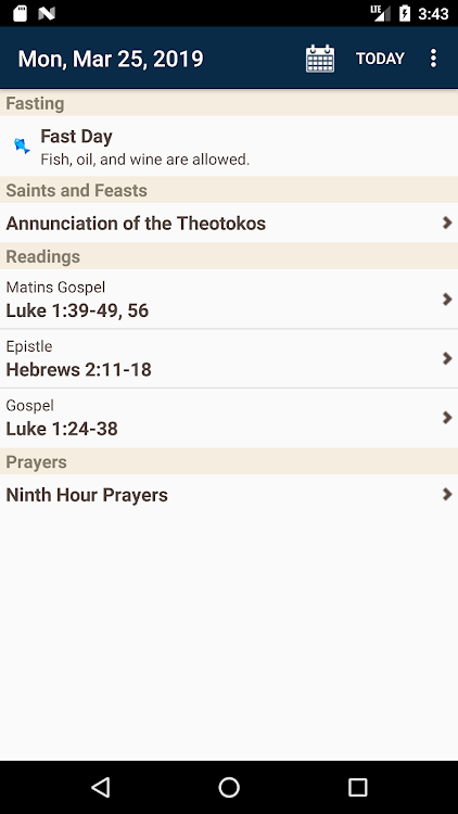 Daily Readings Plus – (Android Apps) — AppAgg