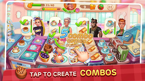 Download Cooking Yummy-Restaurant Game For PC Windows and Mac apk screenshot 5