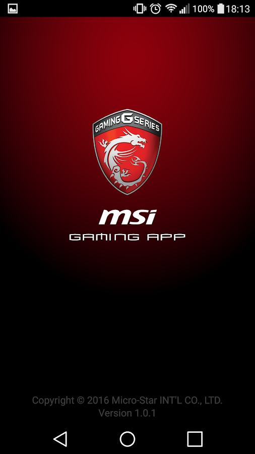 how to connect msi gaming app