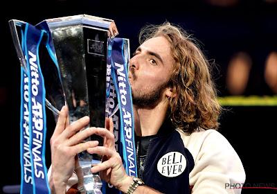 Stefanos Tsitsipas wint ATP Finals na slopende finale