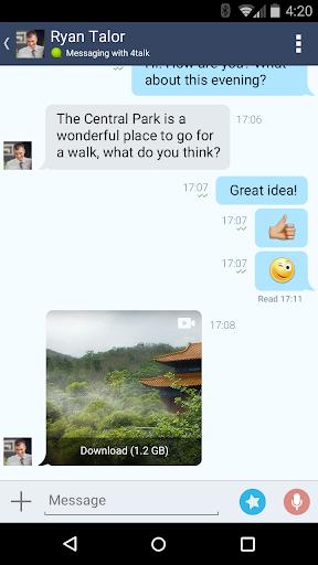 4talk Messenger 2.0.79 screenshots 6