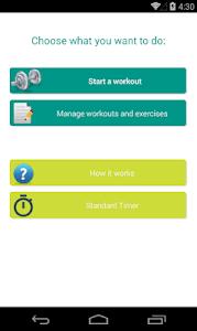 Interval Workout Timer screenshot 0